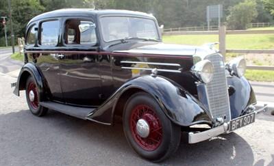 Lot 12-1935 Vauxhall DX 14/6 Saloon