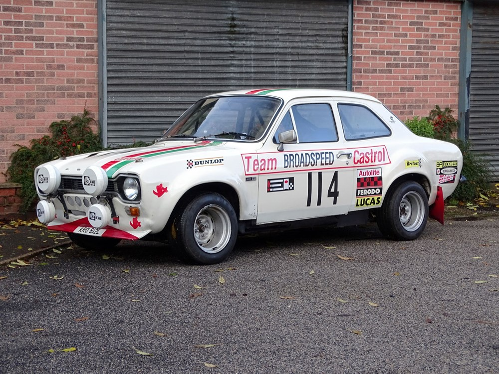 Lot 13-1972 Ford Escort Mexico