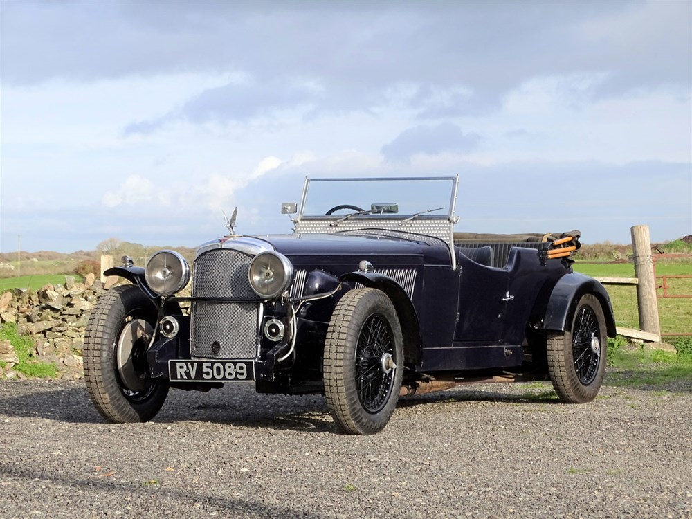 Lot 92-1934 Alvis 'Twin Eagle' 6-Cylinder Special