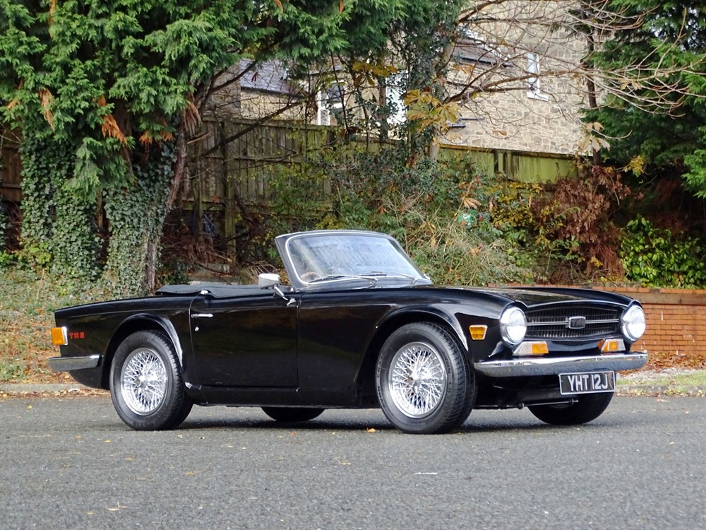 Lot 60-1970 Triumph TR6