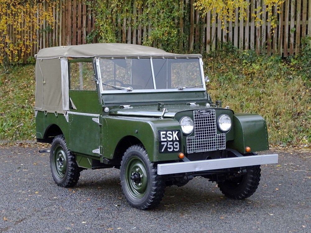 Lot 76-1951 Land Rover 80