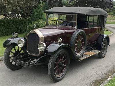 Lot 36-1925 Humber 12/25 Tourer
