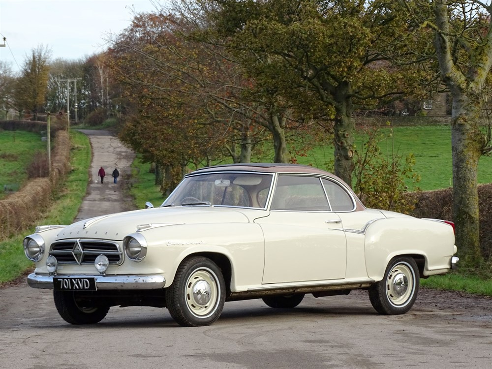 Lot 15-1960 Borgward Isabella Coupe