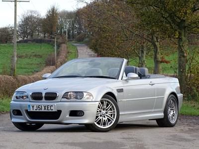 Lot 33 - 2001 BMW M3 Convertible