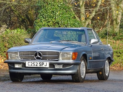 Lot 40-1986 Mercedes-Benz 300 SL