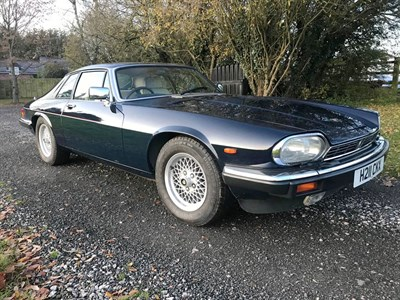 Lot 90-1990 Jaguar XJ-S 5.3 HE
