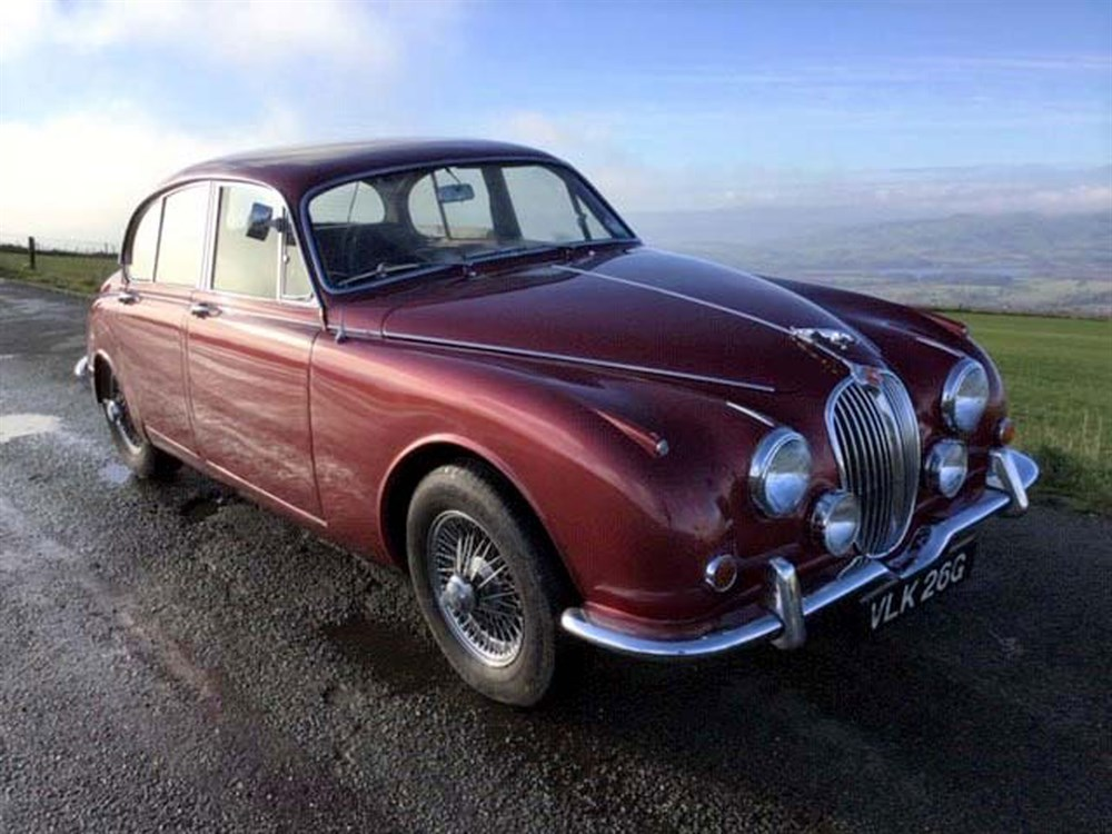 Lot 34-1968 Jaguar 340