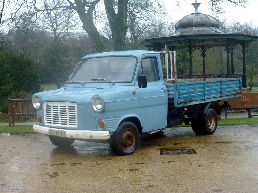 Lot 20-1974 Ford Transit Pickup