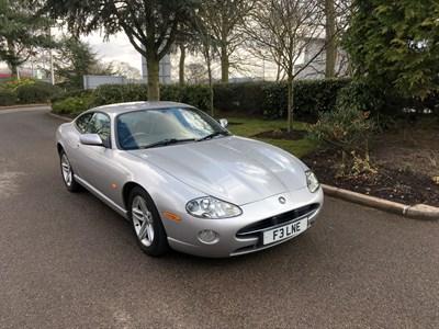 Lot 85-2004 Jaguar XK8 4.2 Coupe