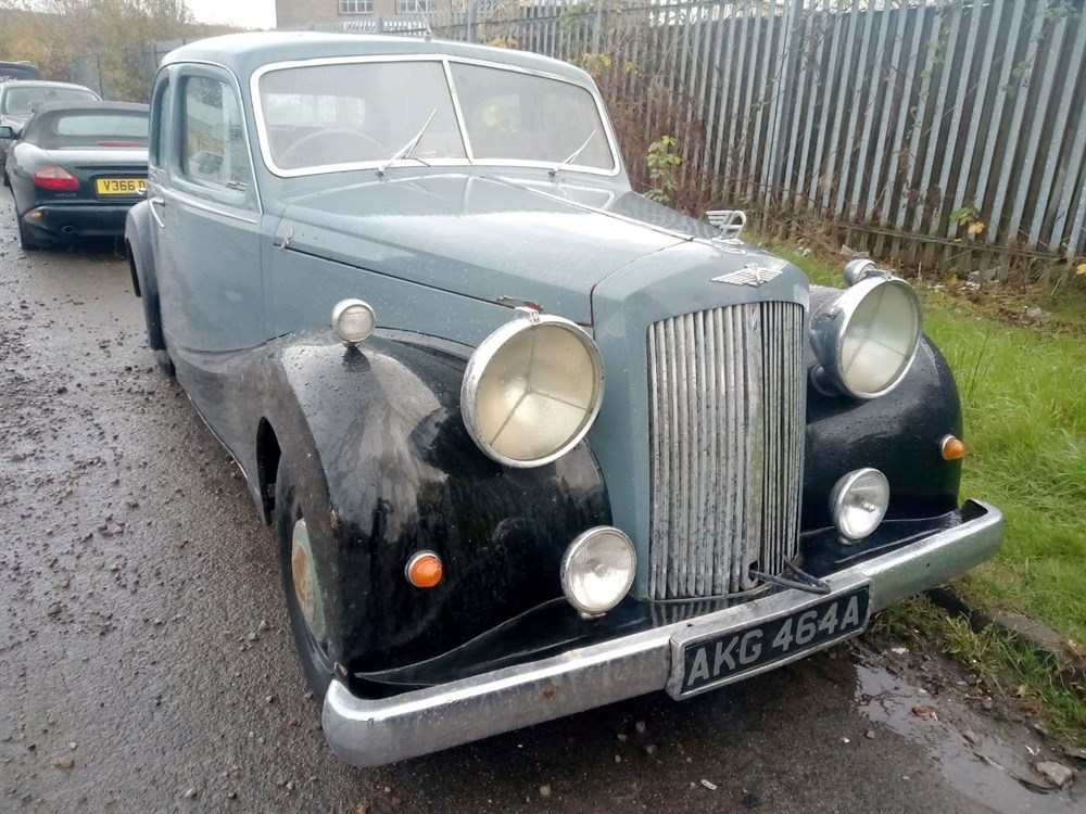 Lot 95-1948 Austin A125 Sheerline Saloon