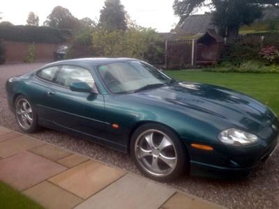 Lot 126-1996 Jaguar XK8 Coupe