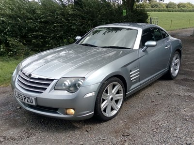 Lot 125-2003 Chrysler Crossfire Coupe