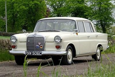 Lot 14-1965 Mercedes-Benz 190 C