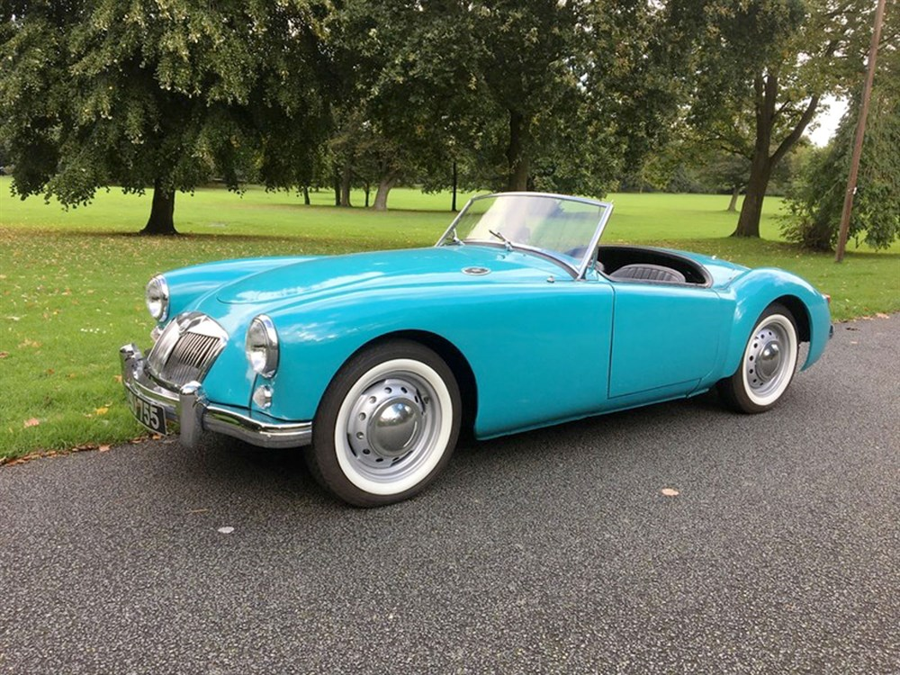 Lot 17-1958 MG A 1500 Roadster