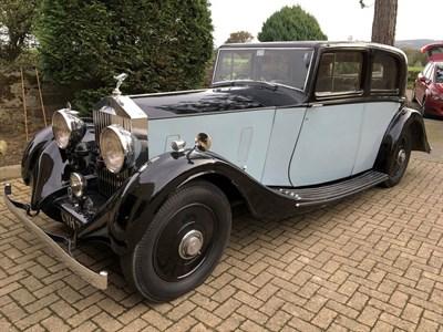 Lot 32-1936 Rolls-Royce 20/25 Sports Saloon