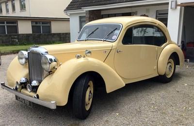 Lot 28-1947 Alvis TA14 Duncan Coupe