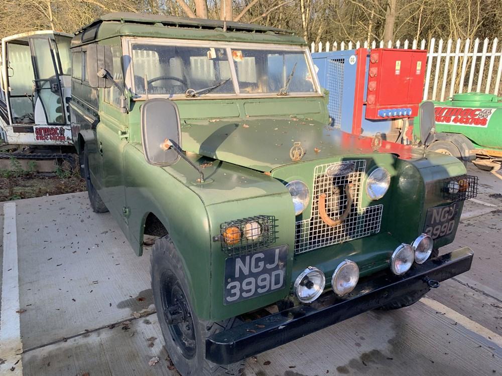 Lot 46-1966 Land Rover 109 Series IIA
