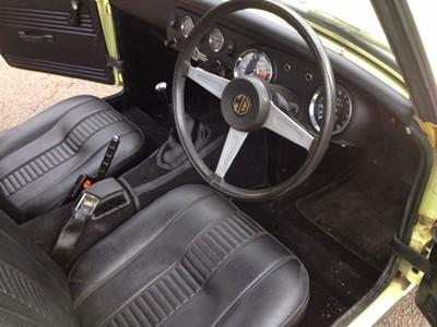 Lot 3-1976 MG Midget 1500