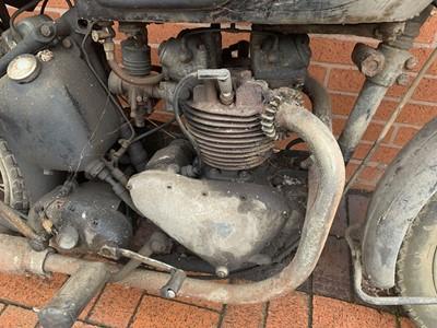 Lot 191-1951 Triumph 5T Speed Twin