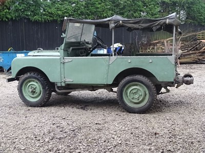 Lot 11-1949 Land Rover 80