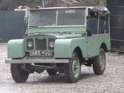Lot 11 - 1949 Land Rover 80