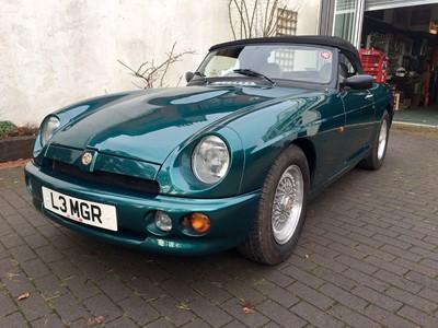 Lot 23 - 1993 MG R V8