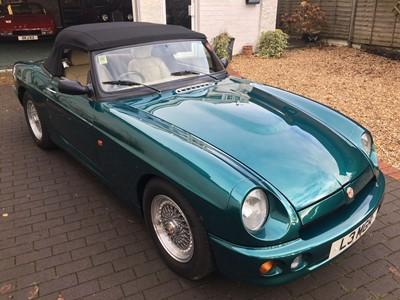 Lot 23-1993 MG R V8