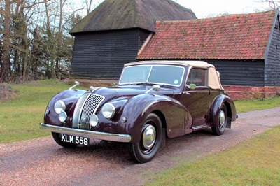 Lot 44-1948 AC 2-Litre Drophead Coupe