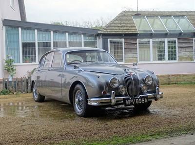Lot 2-1963 Jaguar MK II 3.4 Litre