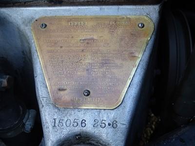 Lot 47-1938 Alvis Speed 25 SC Charlesworth Drophead Coupe