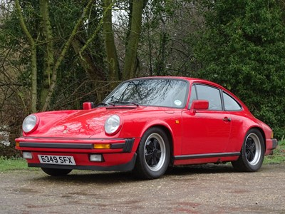 Lot 75-1988 Porsche 911 Carrera 3.2 Sport