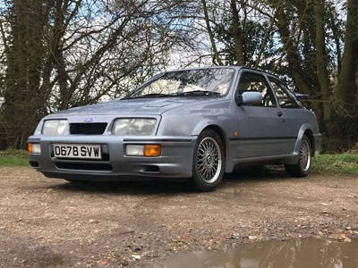 Lot 43 - 1986 Ford Sierra RS Cosworth