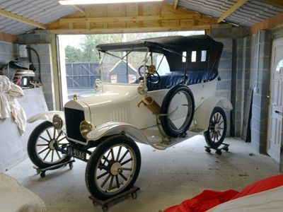 Lot 56-1921 Ford Model T Tourer