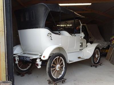 Lot 56-1921 Ford Model T Tourer