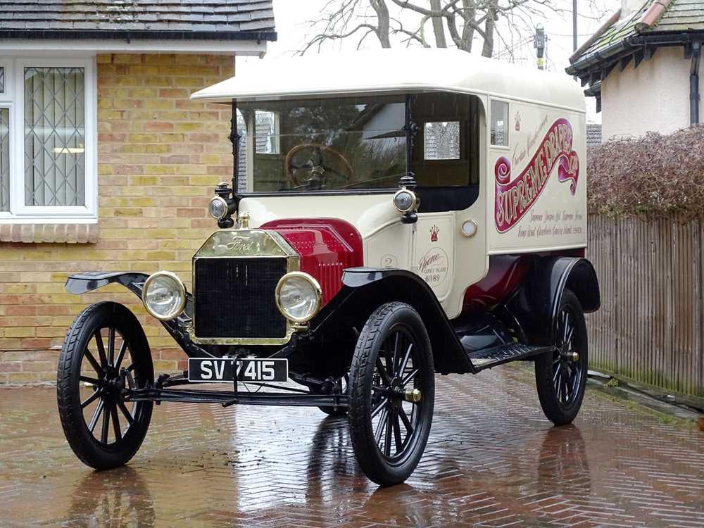 Lot 15-1915 Ford Model T Van