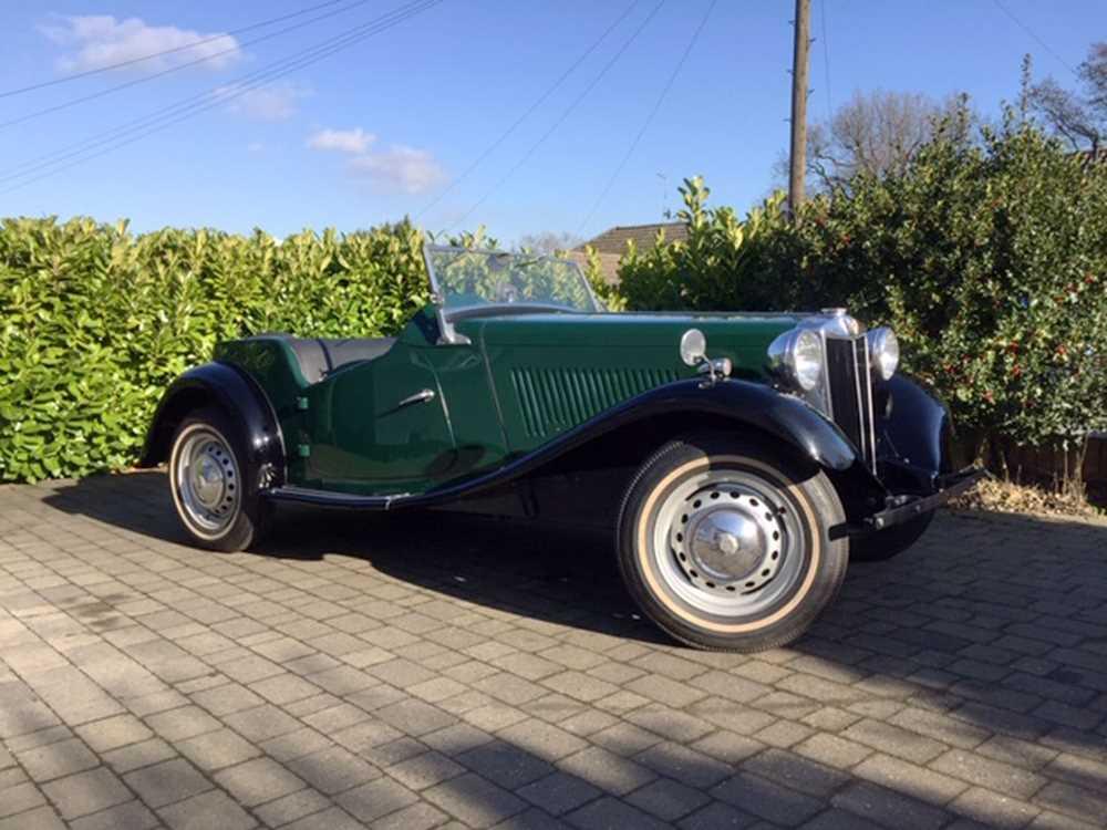 Lot 79-1953 MG TD