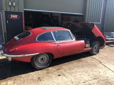 Lot 41-1970 Jaguar E-Type 4.2 2+2
