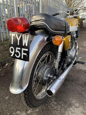 Lot 100-1968 Honda CB250 K0