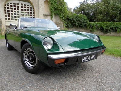 Lot 37-1972 Jensen Healey
