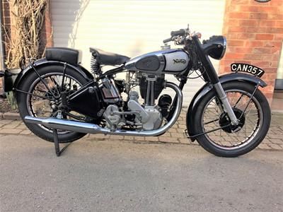Lot -1947 Norton Model 18