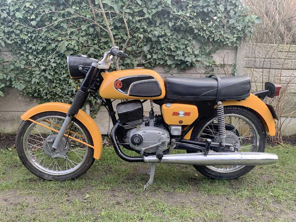 Lot 103-1977 CZ 125 Sport