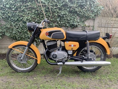 Lot -1977 CZ 125 Sport
