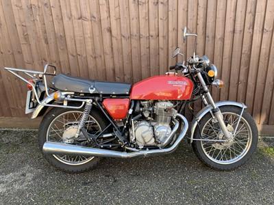 Lot -1976 Honda CB400F