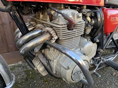 Lot 104-1976 Honda CB400F