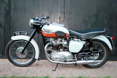 Lot -1958 Triumph T120 Bonneville