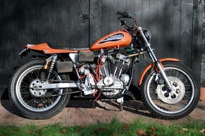 Lot -1972 Harley Davidson XR750