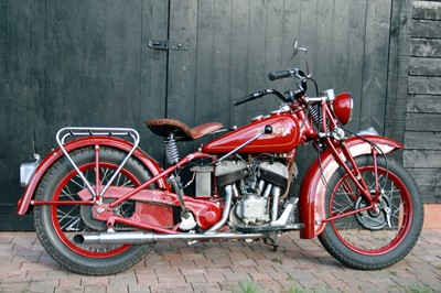 Lot -1942 Indian Scout 741