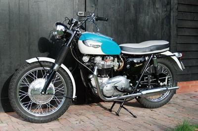 Lot -1966 Triumph TR6R Tiger