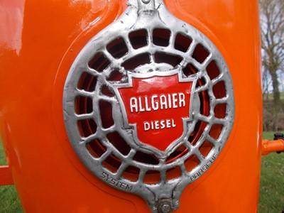 Lot 7-1954 Porsche Allgaier A111