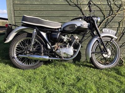 Lot -1957 Triumph T20 Tiger Cub